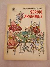 Sergio Aragones 1978 COMIC CARTOON TURKISH RARE TURKEY