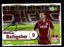 Thomas Rathgeber Autogrammkarte Kickers Offenbach 2012-13 + A 104161