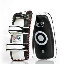 KICK PADS KPLC2 FAIRTEX MUAY THAI PADS  KICK BOXING MMA K1 AUTHENTIC