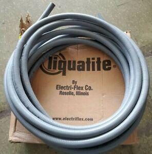 Electri-Flex LA12-GRY-3/4-40FT Liquatite® Liquidtight Flexible Conduit; 3/4 Inc