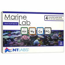 NT Labs MARINE LAB REEF Multi Test Kit, Saltwater Aquarium, KH, Mg, Ca, PO4