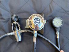 New listing Vintage Aqualung Aquarius Scuba Regulator 1st & 2nd Stage W/ Gauge 1975 US Diver
