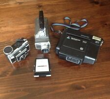 Vintage camera lot Bell Howell Super 8 Kodak Instamatic x-45 Kodamatic 960 Flash