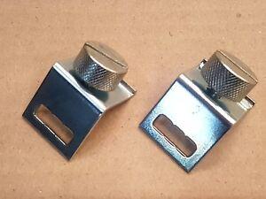2 x Scott Bonnar 45 Rover 45 reel shroud clamp and screw sets