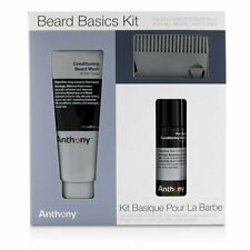 Anthony Beard Basics Kit: 1x Conditioning Beard Wash , 1x Pre-Shave + 177ml