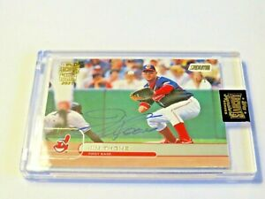 2021 TOPPS ARCHIVES SIGNATURE SERIES JIM THOME  AUTO ONE OF ONE 1/1 CLEVELAND