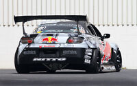 """RED BULL MAZDA RX8 A1 CANVAS PRINT POSTER FRAMED 33.1""""x21.4"""""""