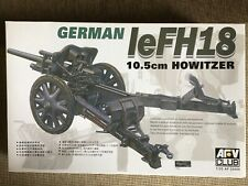 AFV Club German le FH18 10.5 Howitzer 1/35 scale