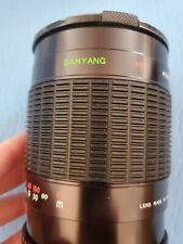 Samyang 500mm f/8.0 Mirror Lens BH #SA5008MLB • MFR #SY500M w/CASE Free Shipping