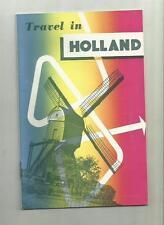 guida turistica d' epoca travel in holland