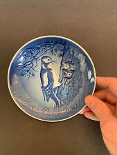 Bing & Grondahl B&G Porcelain Mothers Day Bird Plate 1980 Royal Copenhagen