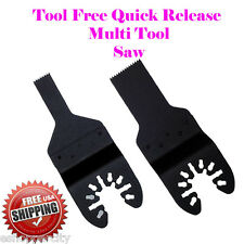 2 Multi Tool Saw Blade For Rockwell Sonicrafter RK5140K RK5139K Porter Cable