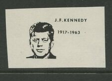 Guernsey ALDERNEY/SARK 1966 Kennedy Overprint PROOF