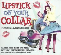 LIPSTICK ON YOUR COLLAR 75 ORIGINAL JUKEBOX CLASSICS - 3 CD BOX SET