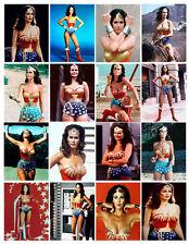 WONDER WOMAN TV SHOW PHOTO-FRIDGE MAGNETS SET OF 16