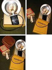 Große Antike Kodak Blitzschale mit Einzellampen aus den 1940/50 Jahren-Funktion