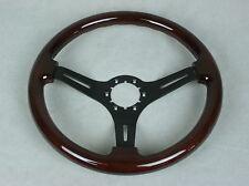 1968-1975 1977-1982 C3 Corvette Steering Wheel Mahogany Rim - 3 Black Spokes