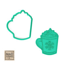 Christmas Mug Cookie Cutter - New Year Gift Xmas