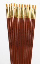Sterling Studio Artist Brush Size 2 Brights 12 For $10. WOW! (83 cents each)