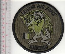 Belgium Belgian Air Force BAF Tazmanian Devil Always Ready Patch Belgique acu