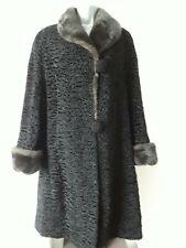 Vintage astrakhan coat