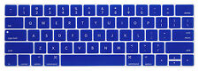 US New for w/Touch Bar and Touch ID New MacBook Pro Keyboard Cover Skin Laptop