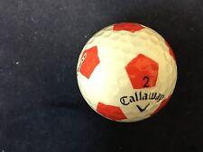 24 Callaway Chrome.Soft Truvis Red/White (Mixed Model) 5A(AAAAA)Golf Balls