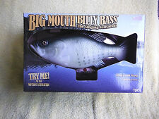 NIB! GEMMY BIG MOUTH BILLY BASS THE SINGING SENSATION, I WILL SURVIVE! MAN CAVE!