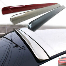 Painted 01-05 For Honda Civic 7th Coupe Sedan Window Rear Roof Lip Spoiler §