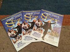 TOMMY STEELE (SCROOGE) RARE THEATRE FLYERS X 3