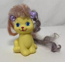 Vintage 1989 Mattel My Little Pretty Kitty Glitter N Grow Sweetlee Yellow Cake