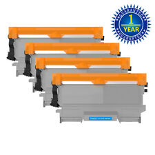 4pk Brother TN450 Black Toner Cartridge High Yield For HL-2240 2270DW MFC-7860DW