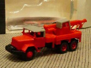 1/87 Roco Magirus Deutz Jupiter Feuerwehr Kranwagen 4009