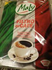 Original Brazilian Malu Paper Coffee Filter 103 - 30 filters - Filtro de Papel