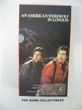 An American Werewolf In London David Naughton Vhs Movie Like New