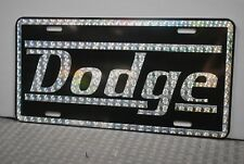 RETRO 1970'S PRISM DODGE METAL LICENSE PLATE CHARGER DART CORONET R/T CHALLENGER