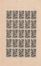 FRANCE / TIMBRE NEUFS ** N° 584 EN FEUILLE DE 25 / BELLE COTE