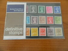 1977 DEFINITIVE LOW VALUES 1/2p to 50p PRESENTATION PACK(No90) IN MINT CONDITION