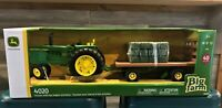 John Deere 4020 Tractor with Hay Wagon and Bales 1/16 Scale, Lights/ Sound