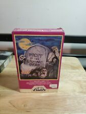 Night of the Living Dead BETA not VHS Betamax Media Home Entertainment Inc.