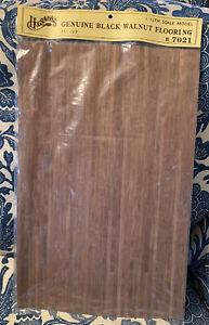 Dollhouse Miniature American Black Walnut Wood Flooring by Houseworks # 7021