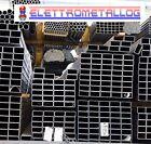 PROFILO TUBO RETTANGOLO SCATOLATO IN FERRO ZINCATO LUNGHE 3 E 6 METRI