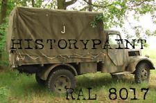 RAL8017 FARBE KAFFEEBRAUN ROTBRAUN WEHRMACHT ab FEBRUAR 1943 KDF 1 kg LACK