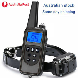 Training Electric Dog Pet  E - Collar Obedience Remote Control anti bark-shock