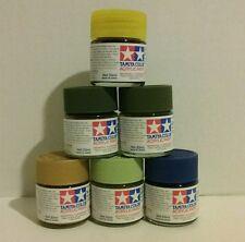 Tamiya 23ml acrylic paint bundle