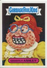 Garbage Pail Kids Chrome Series 2 Base Card 77a GHASTLY ASHLEY