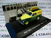 PIT34D 1/43 IXO Altaya Véhicules d'époque ITALIE FIAT 500C assistance RIELLO