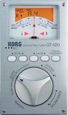 KORG OT-120 Needle VU Chromatic Orchestral Tuner New Japan