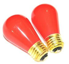Darkroom Safe Light Bulb for Medical And Photo Darkrooms. New. Set Of 2.