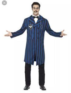 Smiffys Halloween Men's Gothic Duke Of The Manor Fancy Dress Bnwt Large